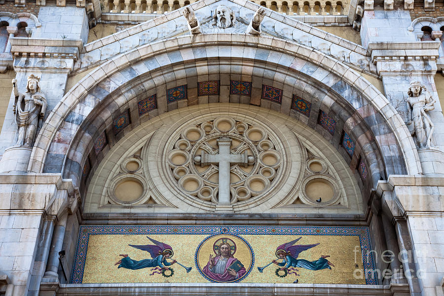 Religion Photograph - Cathedral Of St Vincent De Paul IIi by Irene Abdou