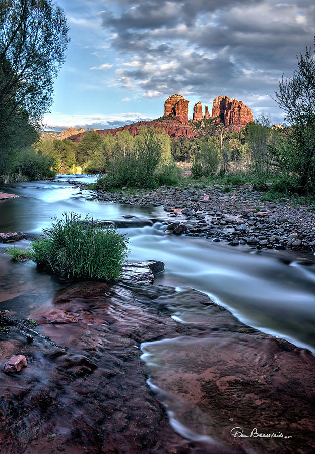 Cathedral Rock And Oak Creek 3381 Photograph