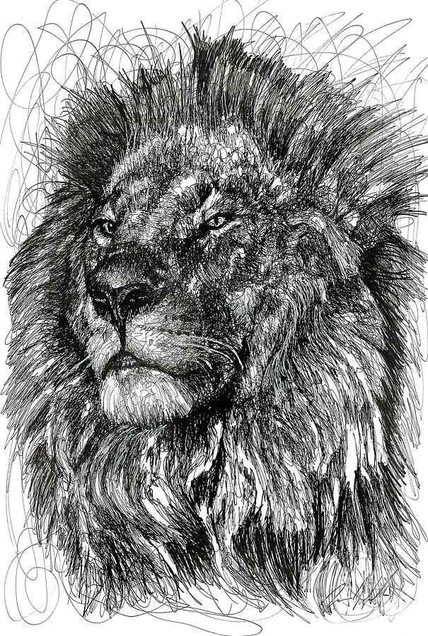 Cecil The Lion Drawing