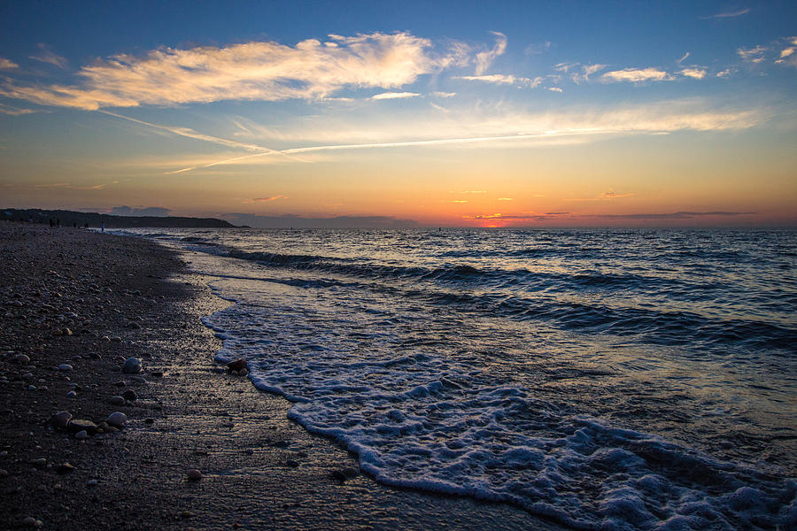 Cedar Beach Sunset Photograph