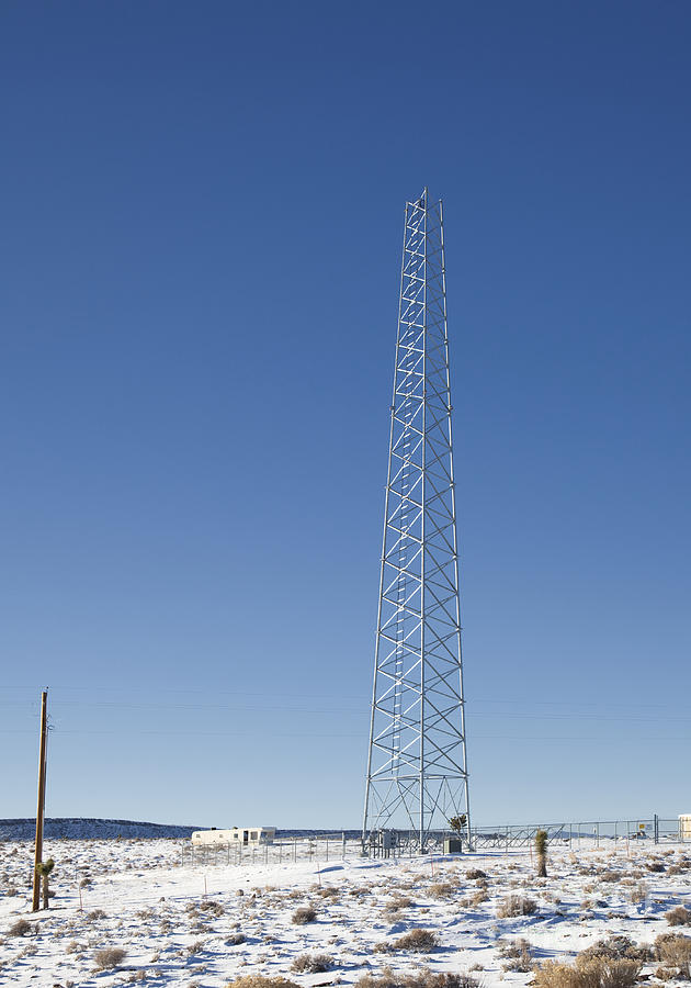 Cellphones Photograph - Cellphone Tower by David Buffington