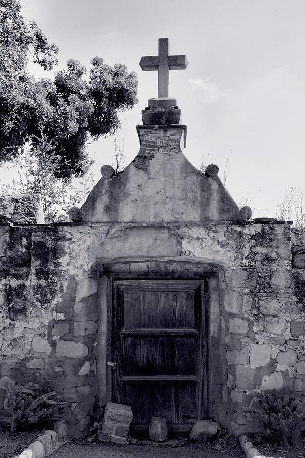 Cemetery At Mission Santa Barbara I Photograph