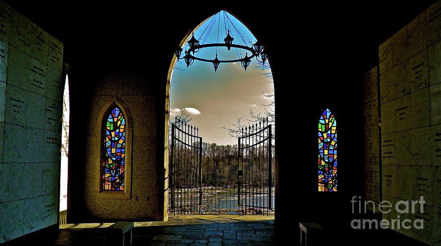 Chapel Photograph - Cemetery Chapel 2 by E Robert Dee