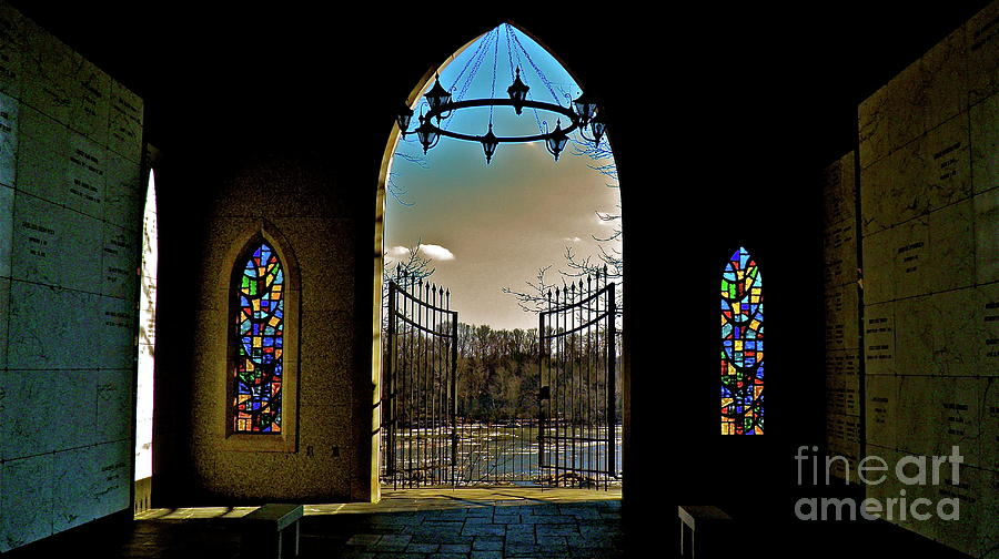 Cemetery Chapel 2 Photograph