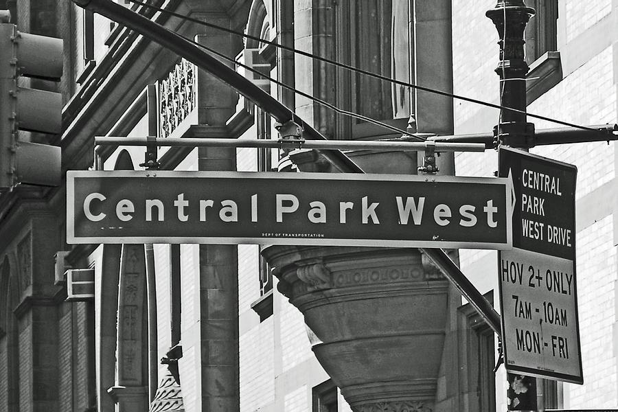 Central Park West Photograph
