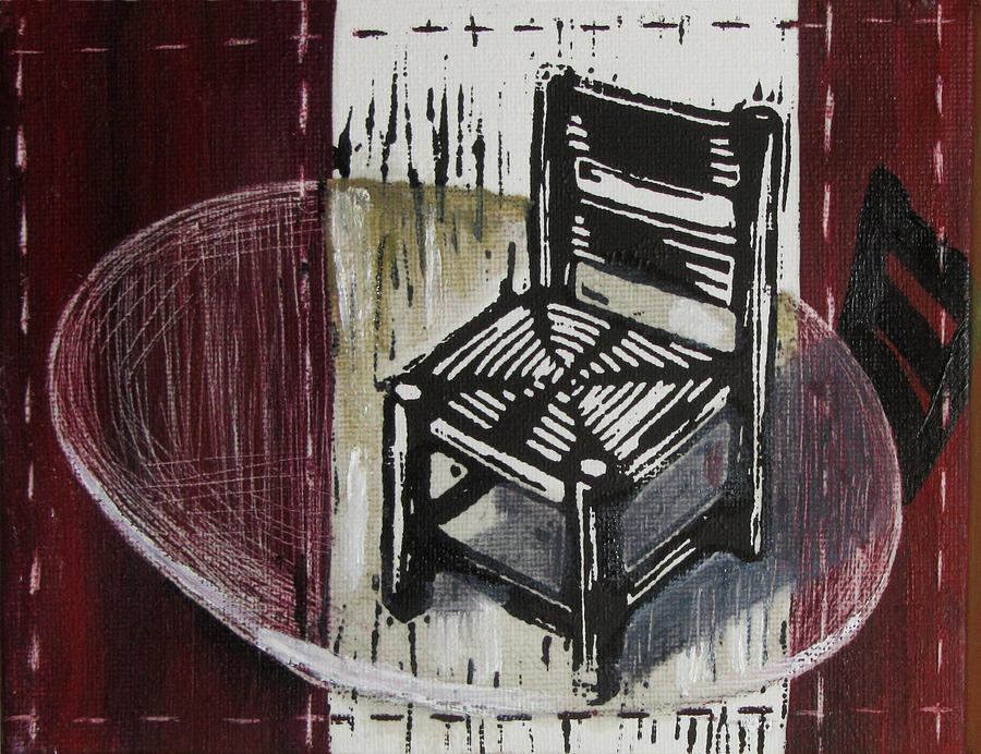 Chair Mixed Media - Chair Vi by Peter Allan