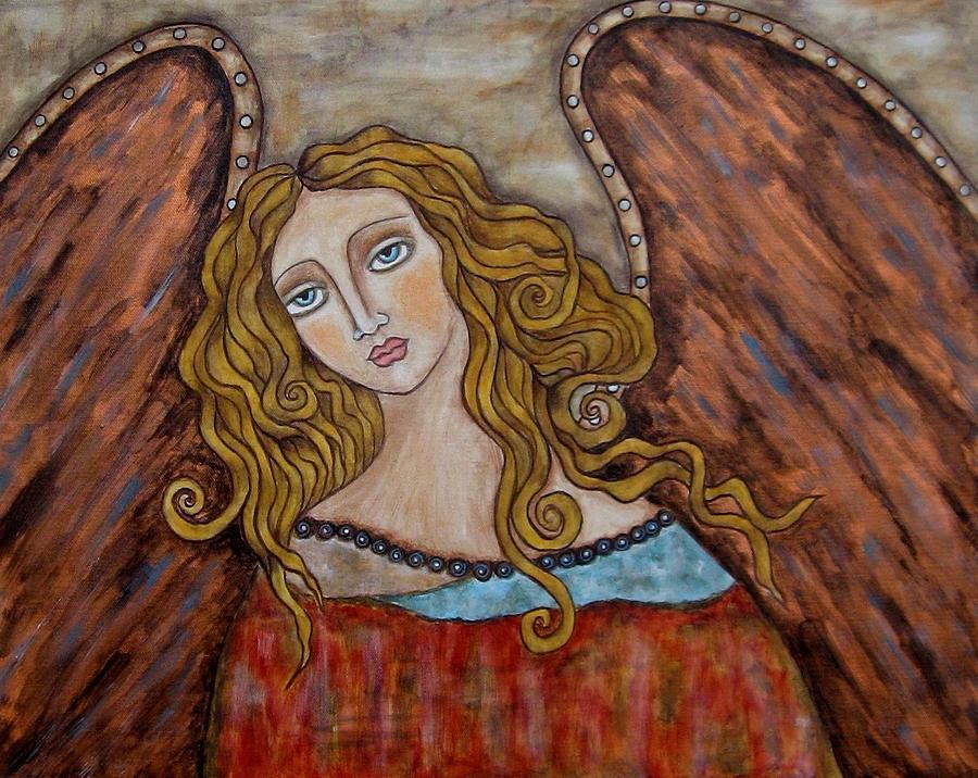 Folk Art Paintings Paintings Painting - Chaourum by Rain Ririn