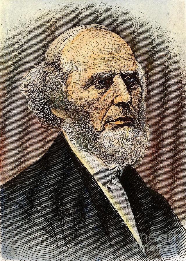 19th Century Photograph - Charles Grandison Finney by Granger