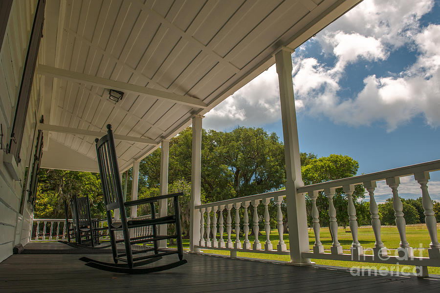 Charles Pinckney House Porch Photograph