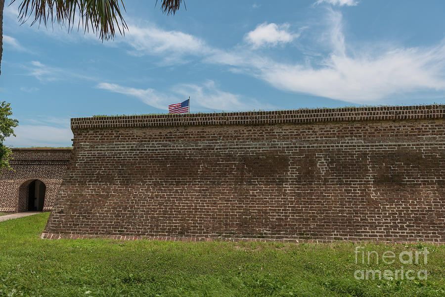 Charleston Coastal Defense Photograph