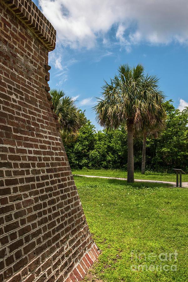 Charleston Fortification Photograph