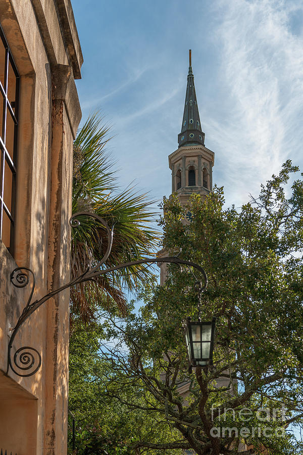 Charleston Iron Scroll Photograph