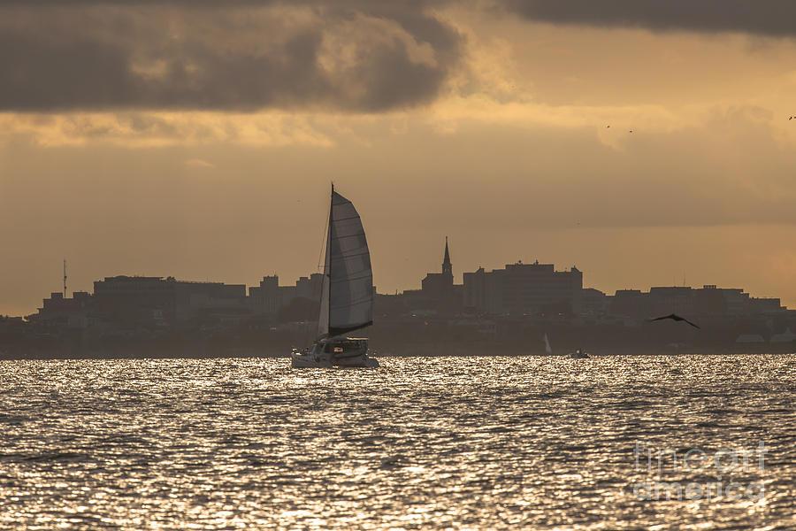 Charleston Sailing Photograph