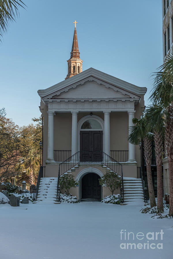 Charleston Snow Photograph