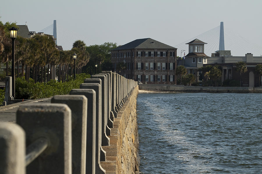 Charleston Photograph - Charleston South Carolina Waterfront Battery by Dustin K Ryan