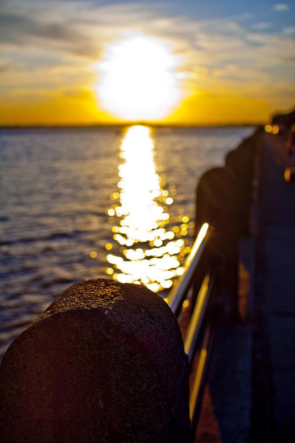 Charleston Sunset Photograph
