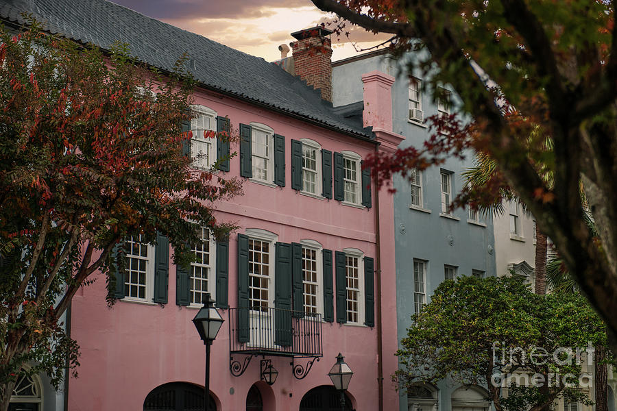 Charleston Tourist Landmark Photograph