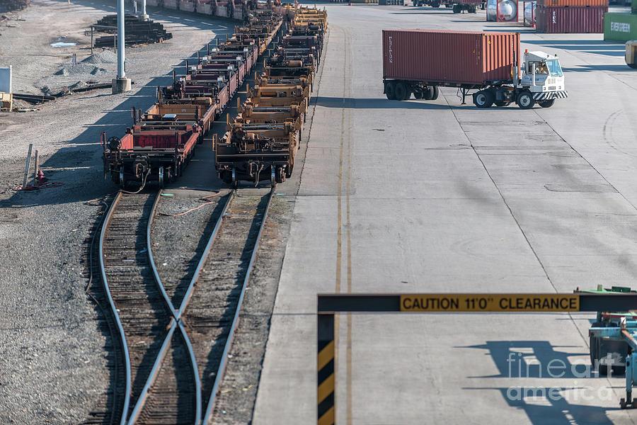 Charleston Train Terminal Photograph