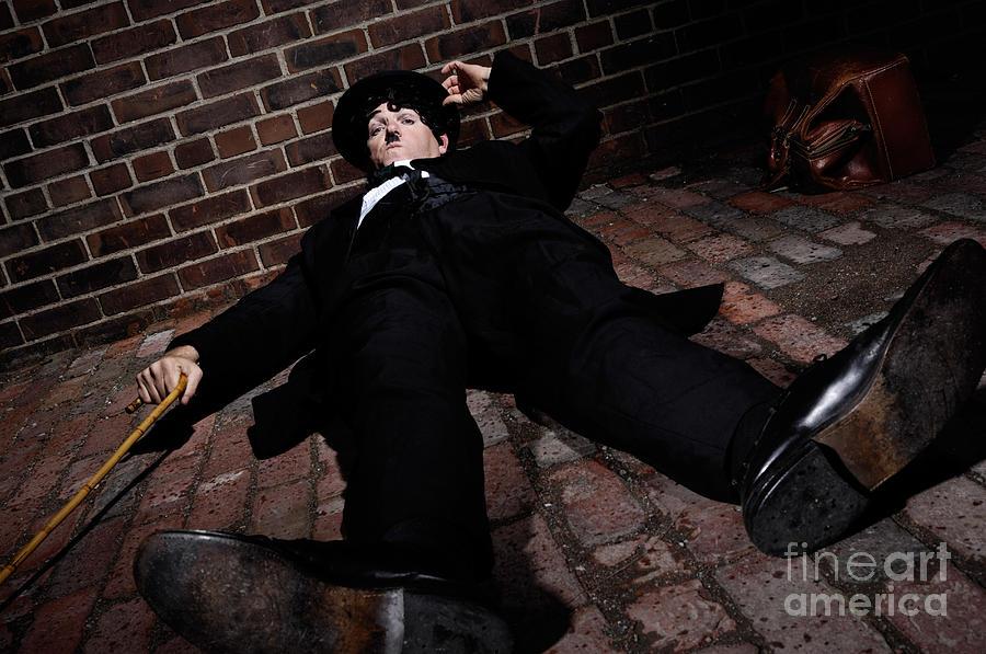 Charlie Chaplin Photograph - Charlie Chaplin by Oleksiy Maksymenko