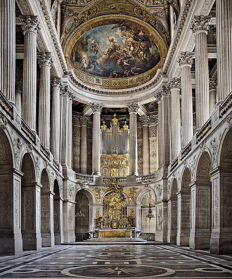 Chateau de versailles interior france photograph by for Chateau de versailles interieur