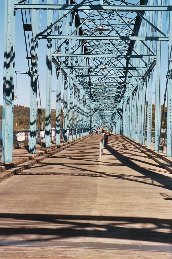 Chattanooga Photograph - Chattanooga Walking Bridge by Jake Hartz