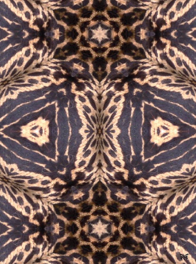 Cheetah Print Digital Art