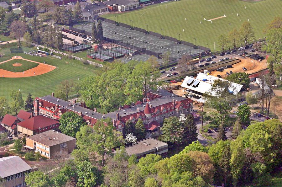 Aerial Photograph - Chestnut Hill Academy II by Duncan Pearson