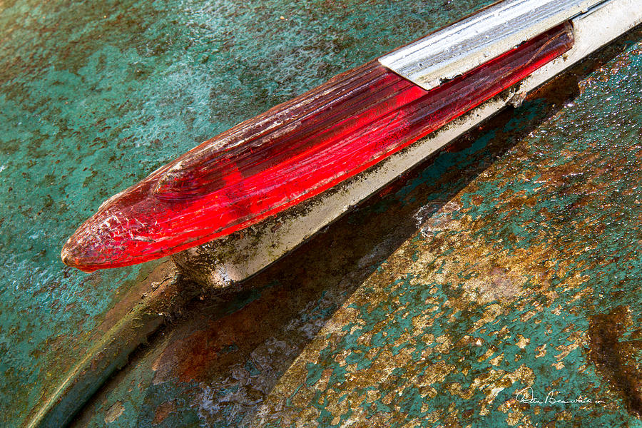Chevy Deluxe Hood Ornament Photograph