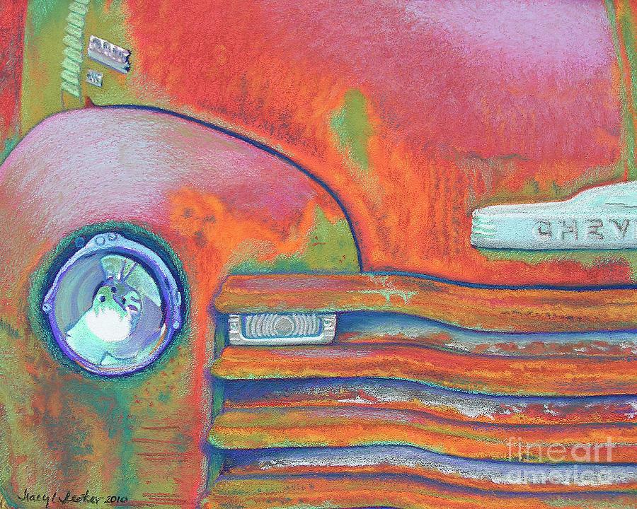 Chevy Rust Pastel