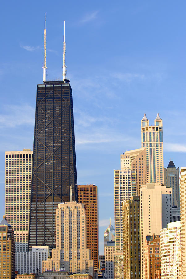 Chicago Photograph - Chicago Downtown by Dmitriy Margolin