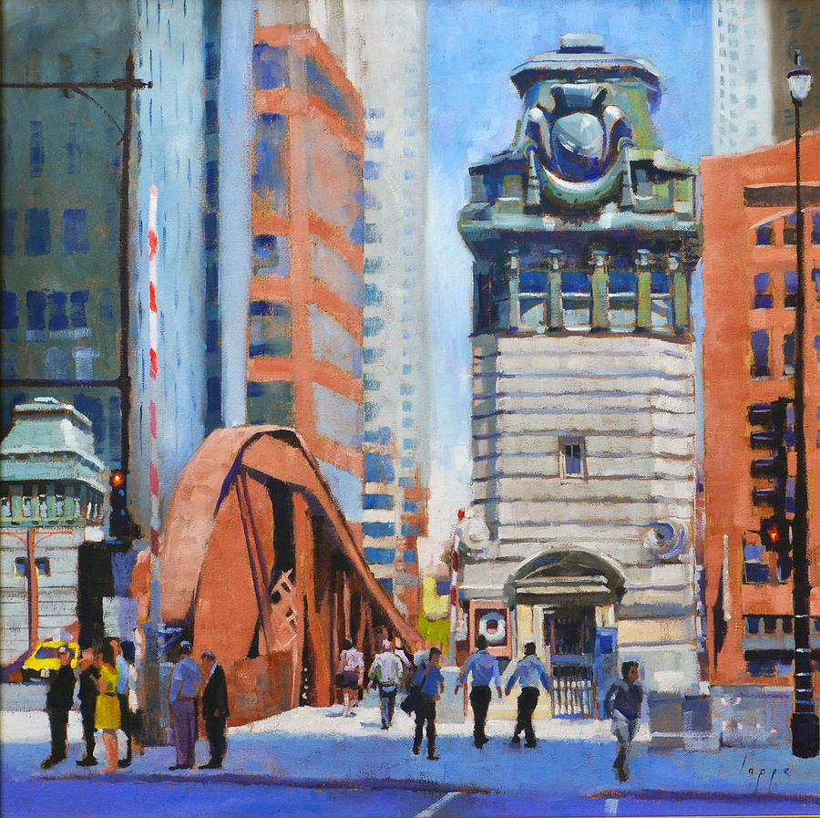 Chicago painting by steve lappe for Chicago mural artist