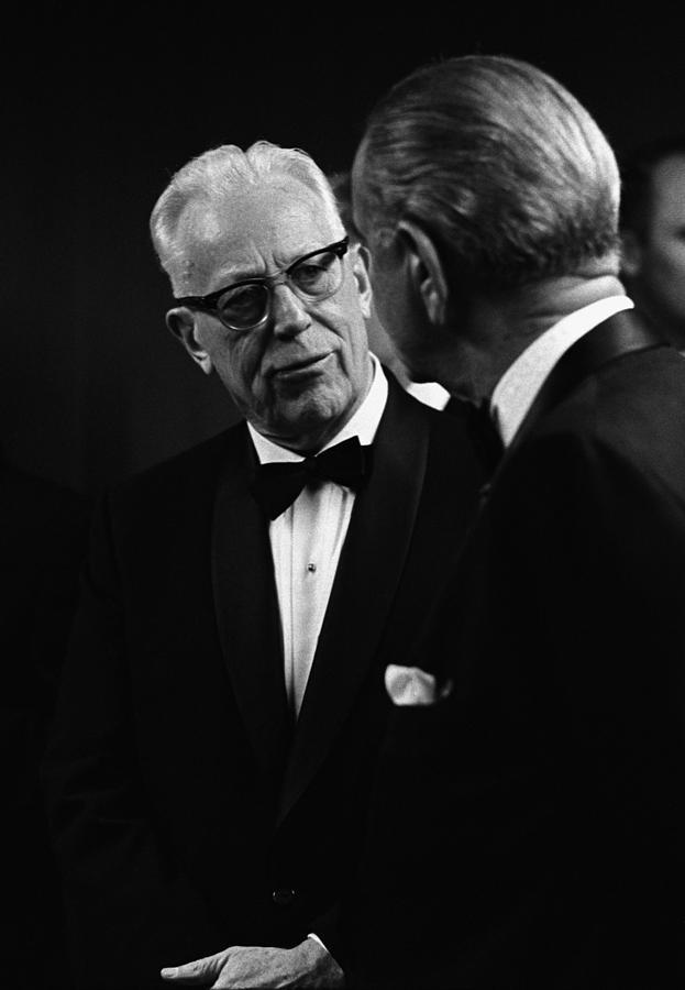 Chief Justice Earl Warren 1891-1974 Photograph