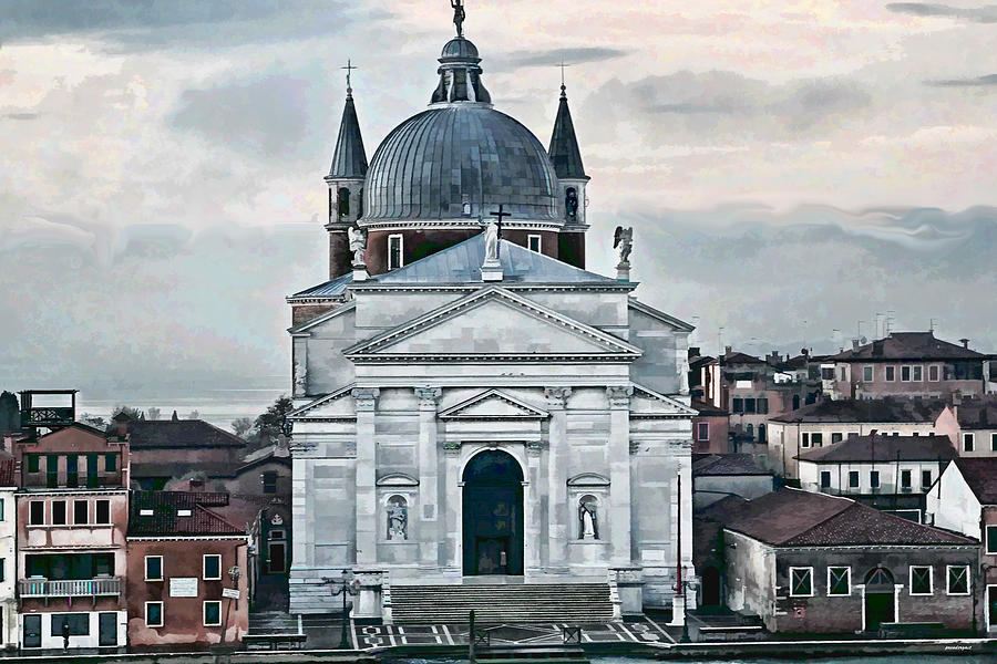 Artistic Photography Photograph - Chiesa Del Redentore Venice by Tom Prendergast