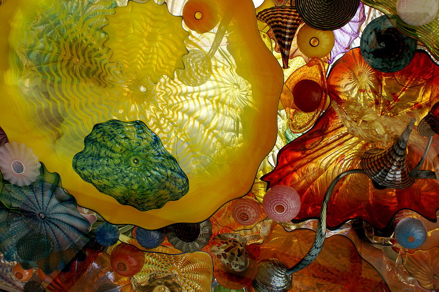 Chihully Art Glass Photograph By Sonja Anderson