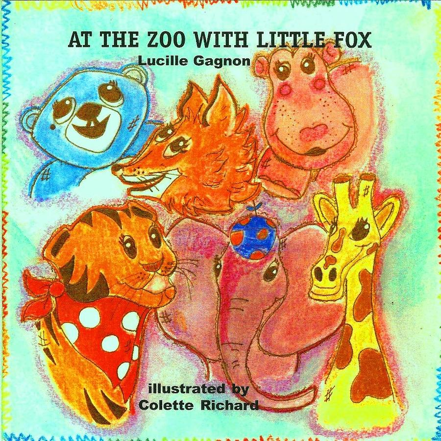 Children S Book Cover Art : Childrens book cover mixed media by colette richard