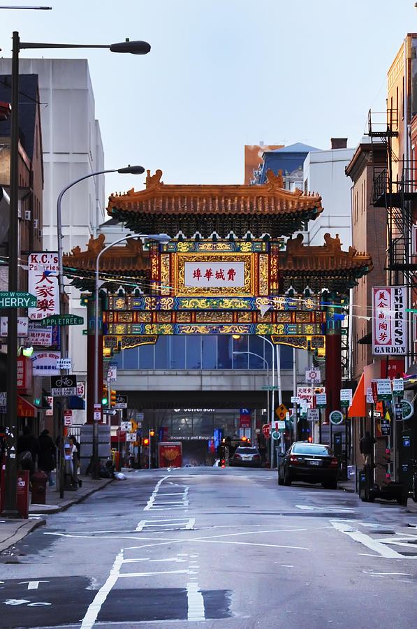 Chinatown - Philadelphia Photograph