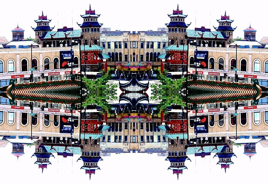 Chinatown Photograph - Chinatown Chicago 2 by Marianne Dow