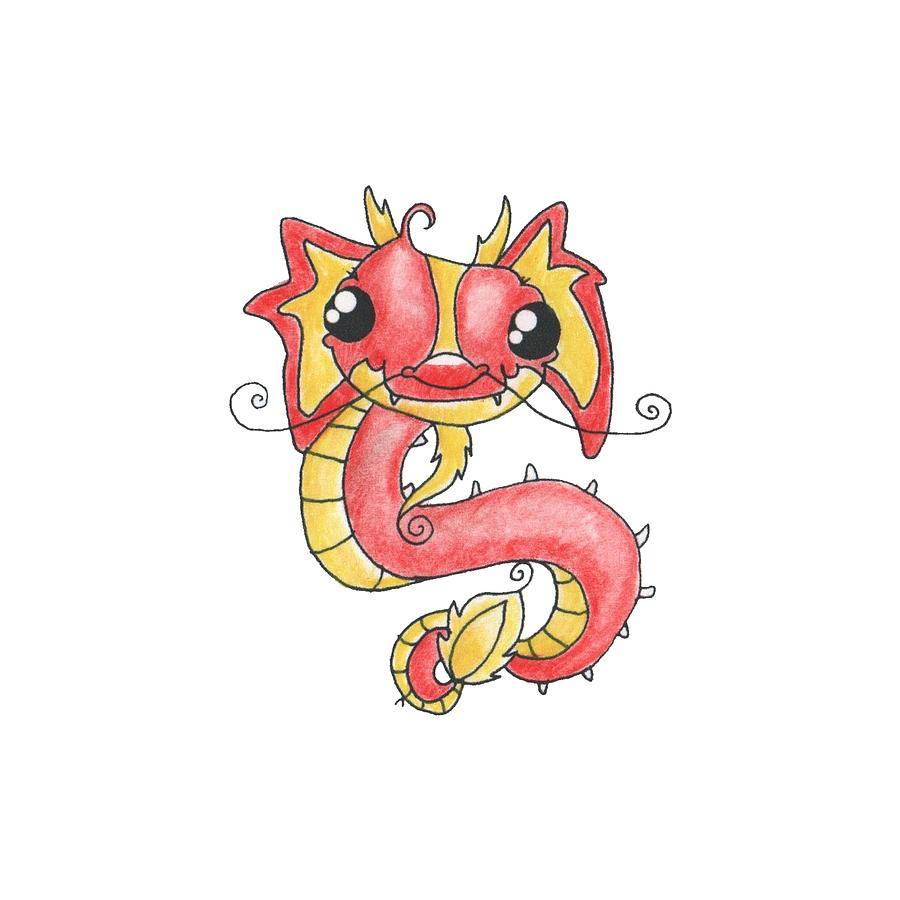 chinese new year dragon by rachel huddleston