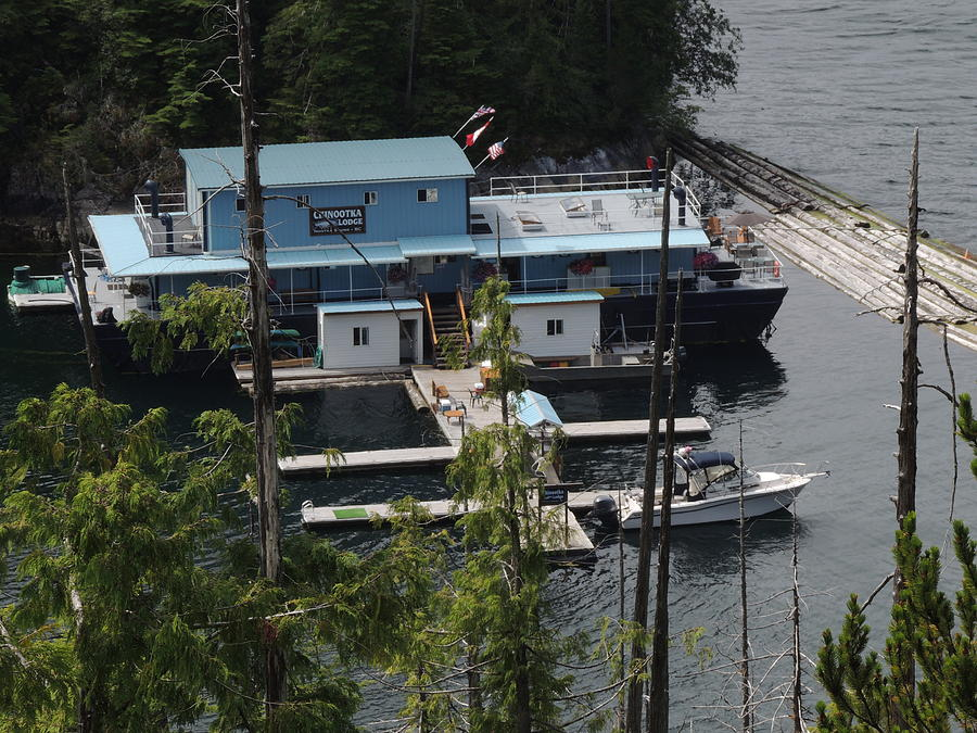 Chinootka Lodge Close-up Photograph by Nootka Sound