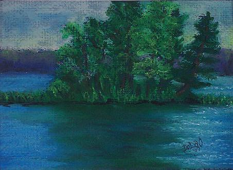 Chippewa Flowage Painting