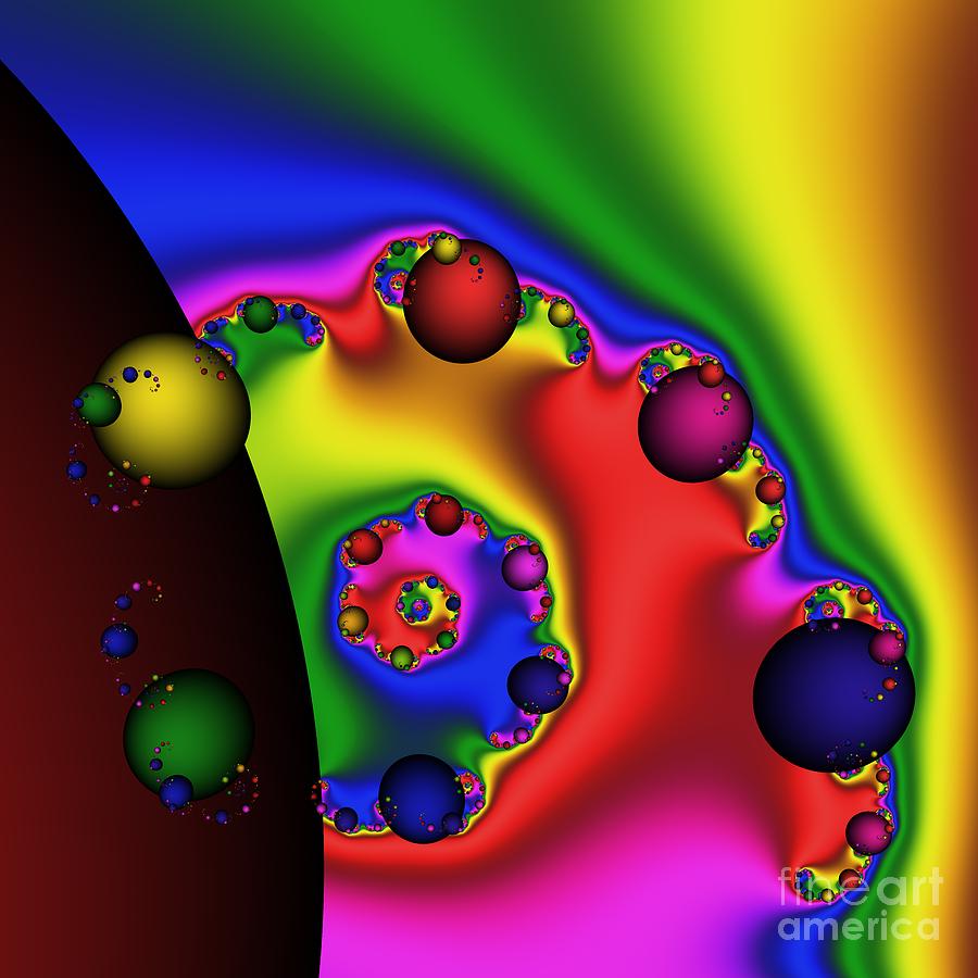 Chocolate Planet 190 Digital Art
