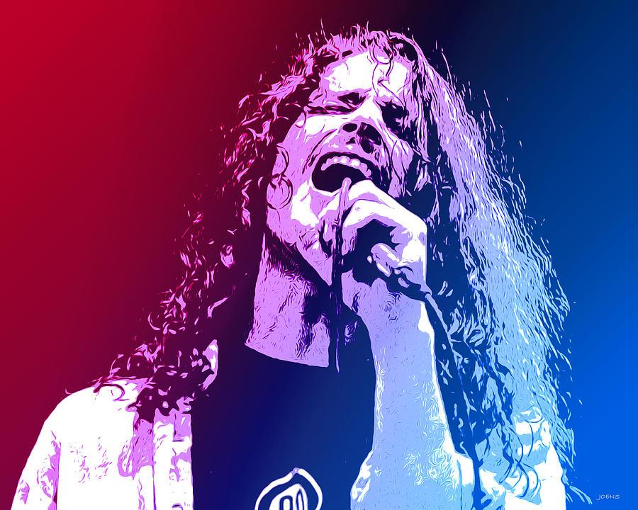 Chris Cornell 326 Mixed Media