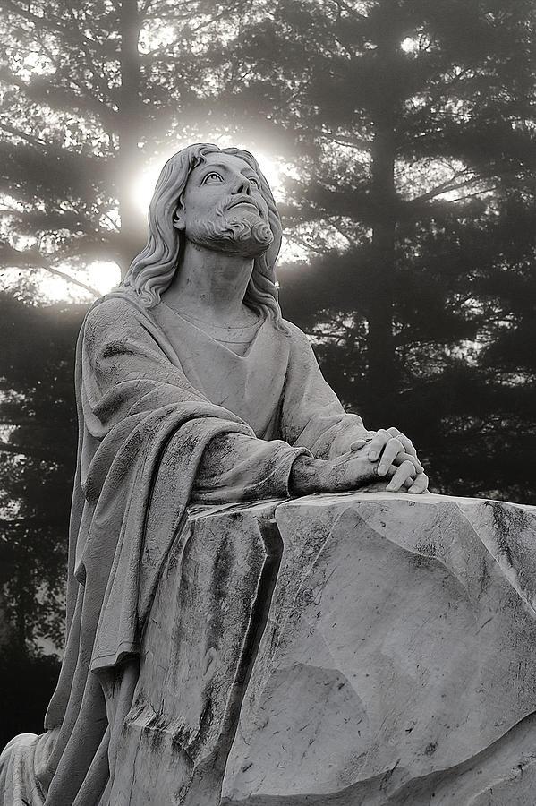 Christ At Prayer Photograph