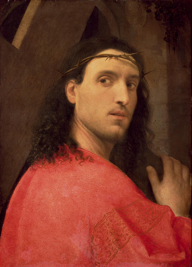 Christ Painting - Christ Carrying The Cross by Italian School