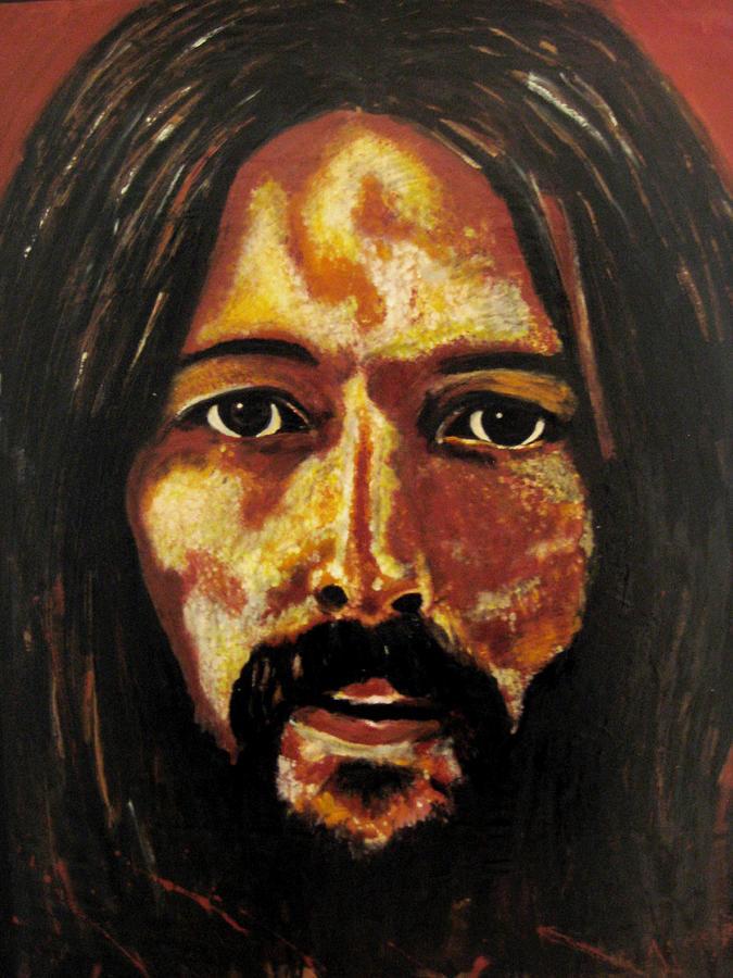 Eric Clapton Painting - Christ Clapton by John Pasdach