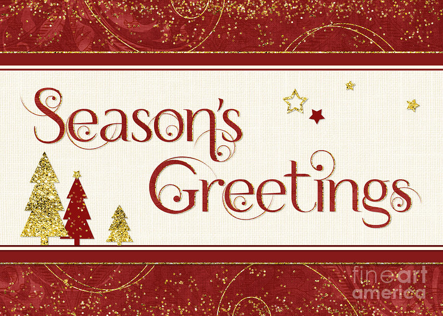 Christmas Card - Seasons Greetings is a photograph by Natalie Kinnear ...