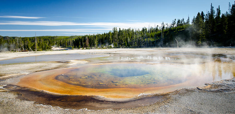 Chromatic Pool Geyser Photograph