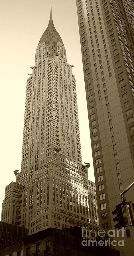 New York Photograph - Chrysler Building by Debbi Granruth