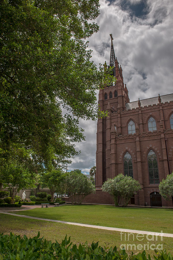 Church Court Yard Photograph