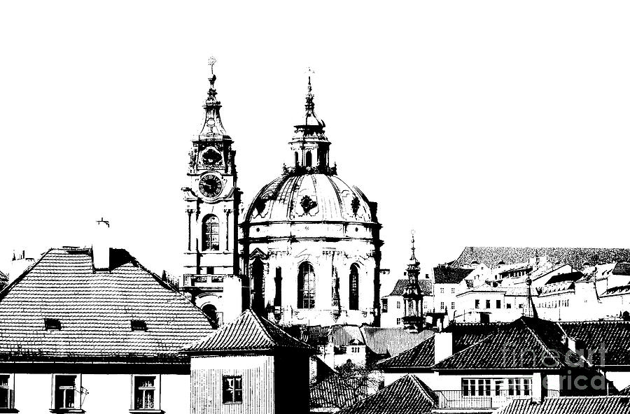 Church Of St Nikolas Drawing